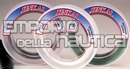 JINKAI LEADER 50YD 100LB SMOKED BLUE JINKAI LEADER 50YD 100LB SMOKED BLUE