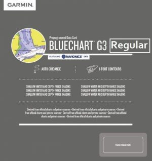 Cartografia Bluechart G3 HD REGULAR