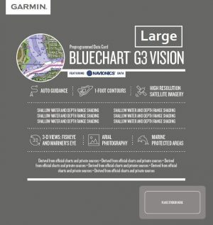 Cartografia Bluechart G3 Vision HD LARGE