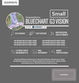 Cartografia Bluechart G3 Vision HD SMALL