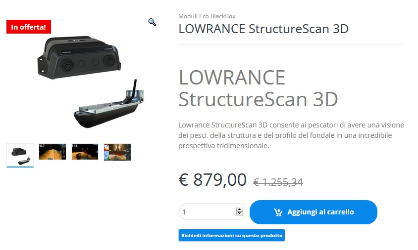 STRUCTURE SCAN 3D – SOTTOCOSTO!