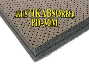 RIVESTIMENTO FONO DOUBLE 30MM 100X120 Akustikabsorber Noise/Thermo Absorber