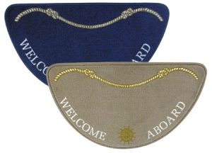 "3311503 – TAPPETINI ""WELCOME ABOARD"" HALF MOON"